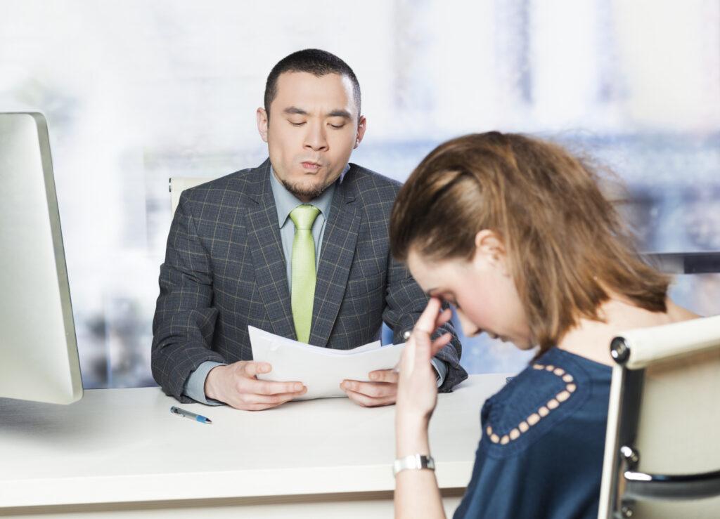 Foto interviu de angajare