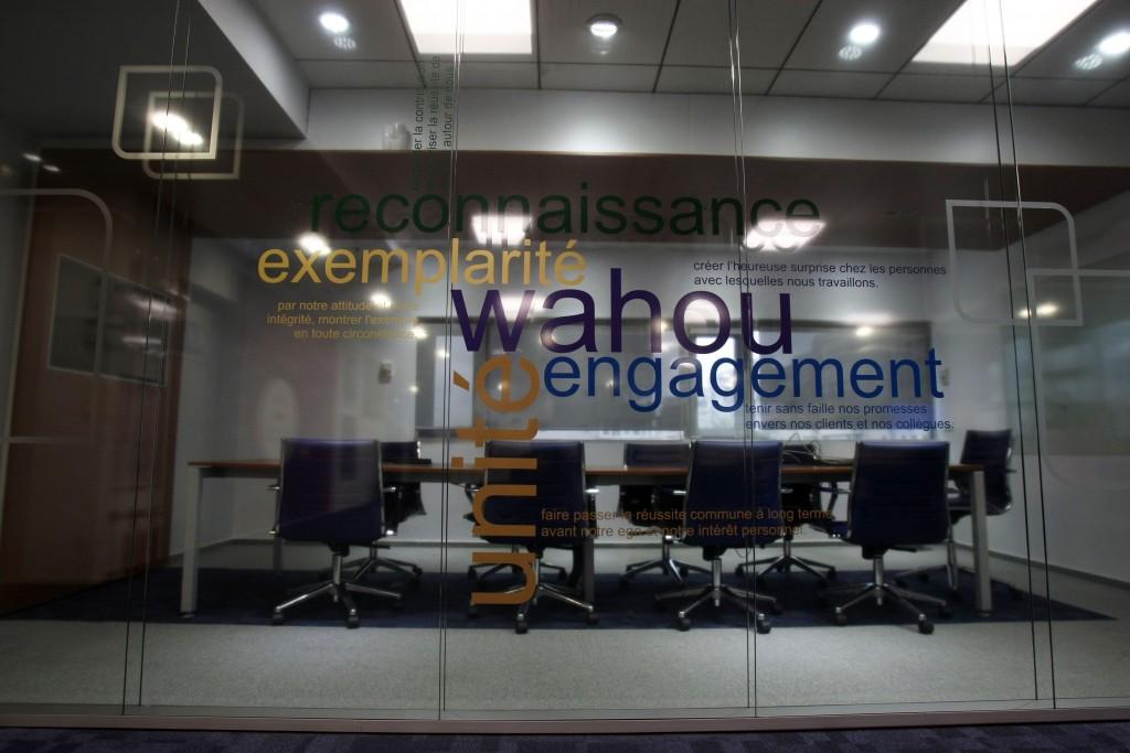 Foto sala de şedinţe Webhelp