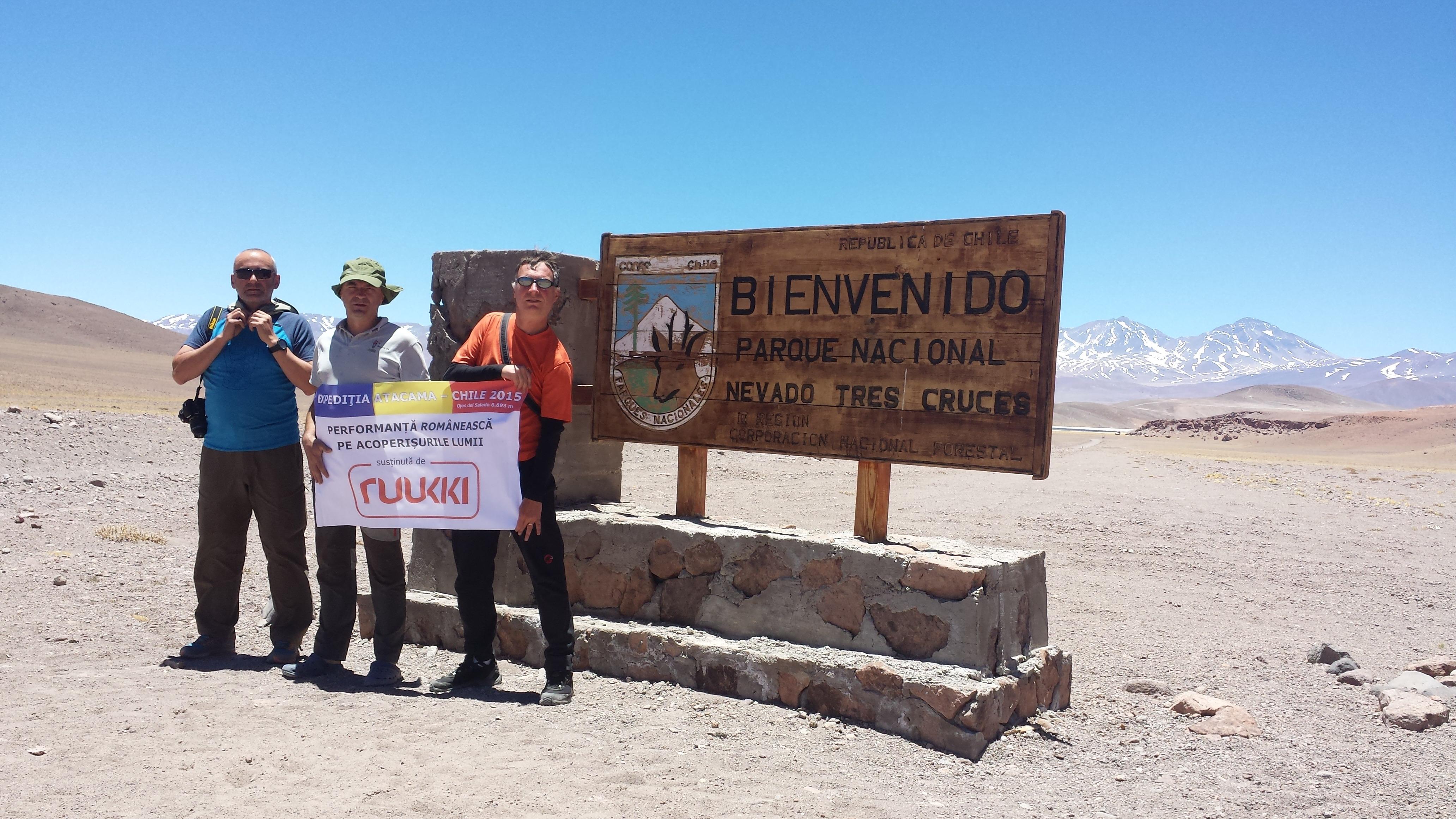 Poza expediţie Atacama