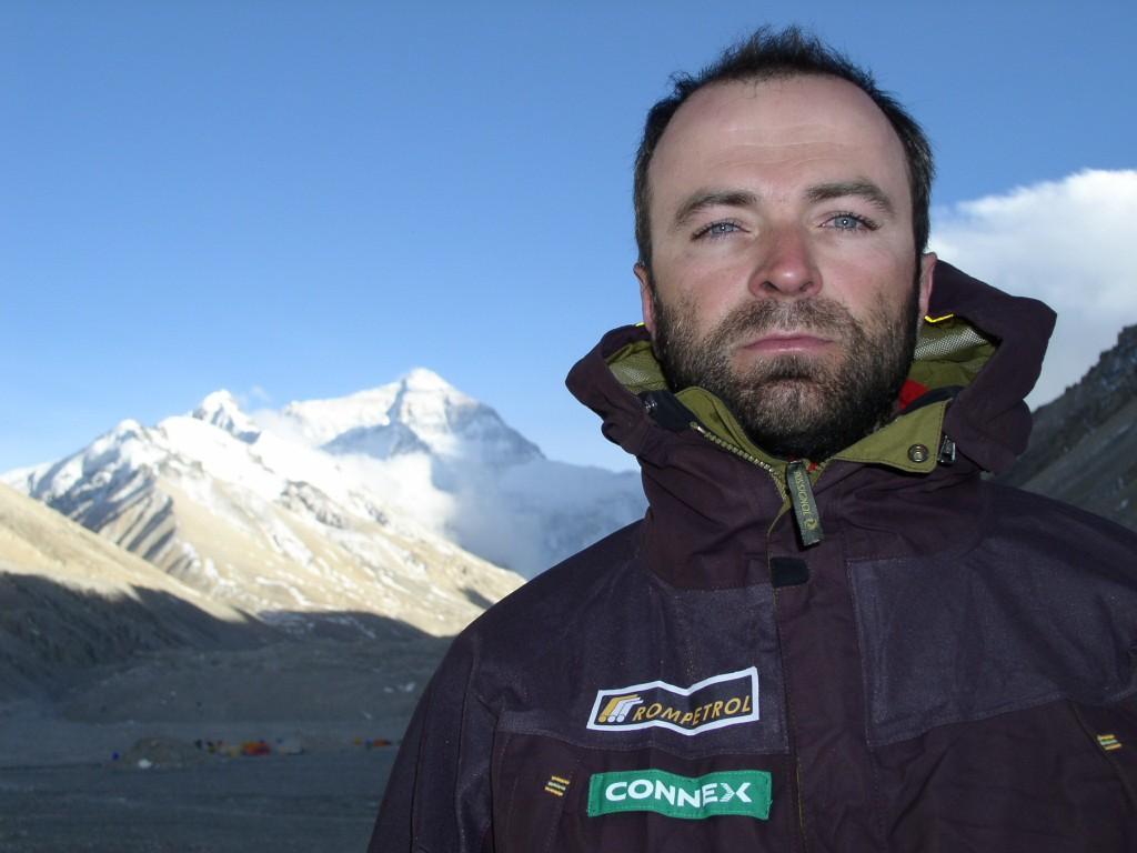 Marius Gane pe Everest.
