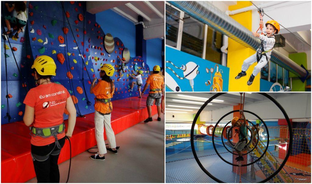 NoGravity Club, locul în care copiii descoperă aventura