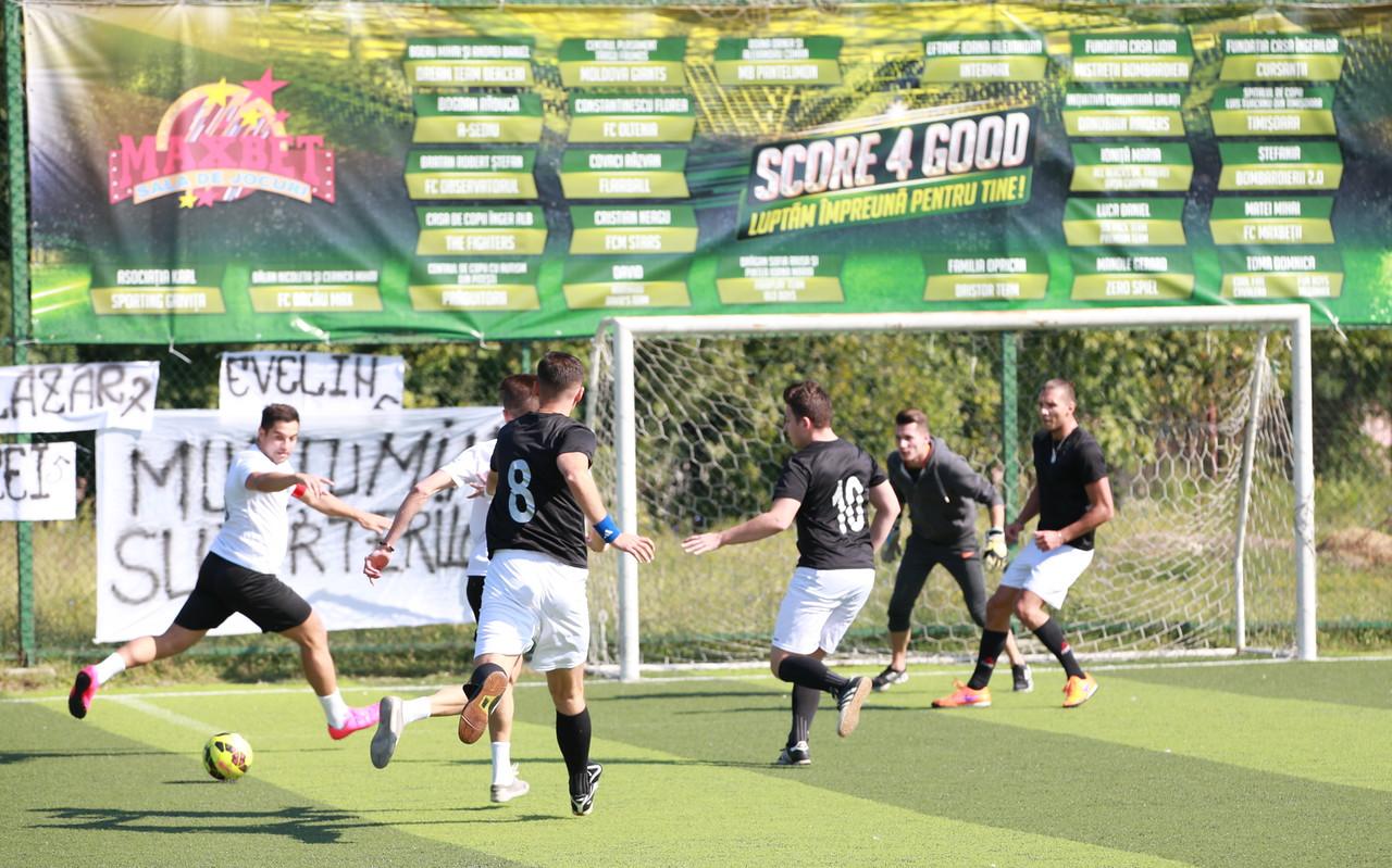 Campionatul de fotbal MaxBet, cu scop caritabil