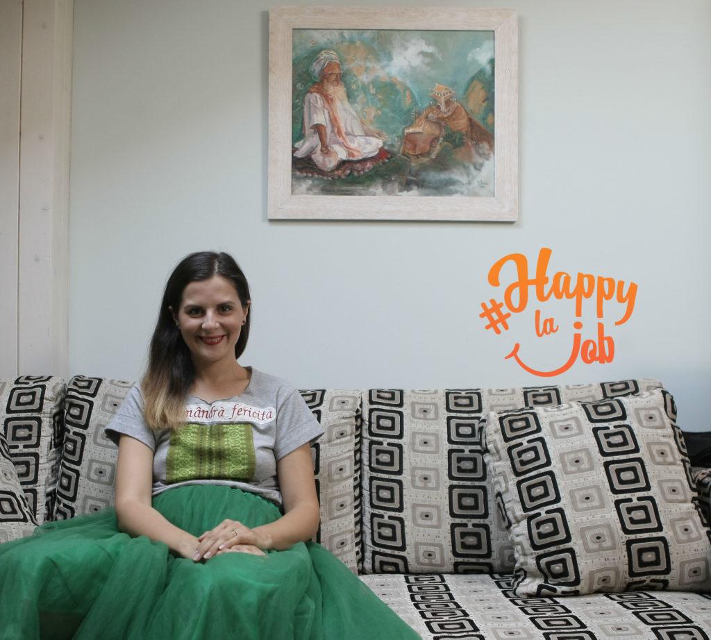 Malina Chirea happy