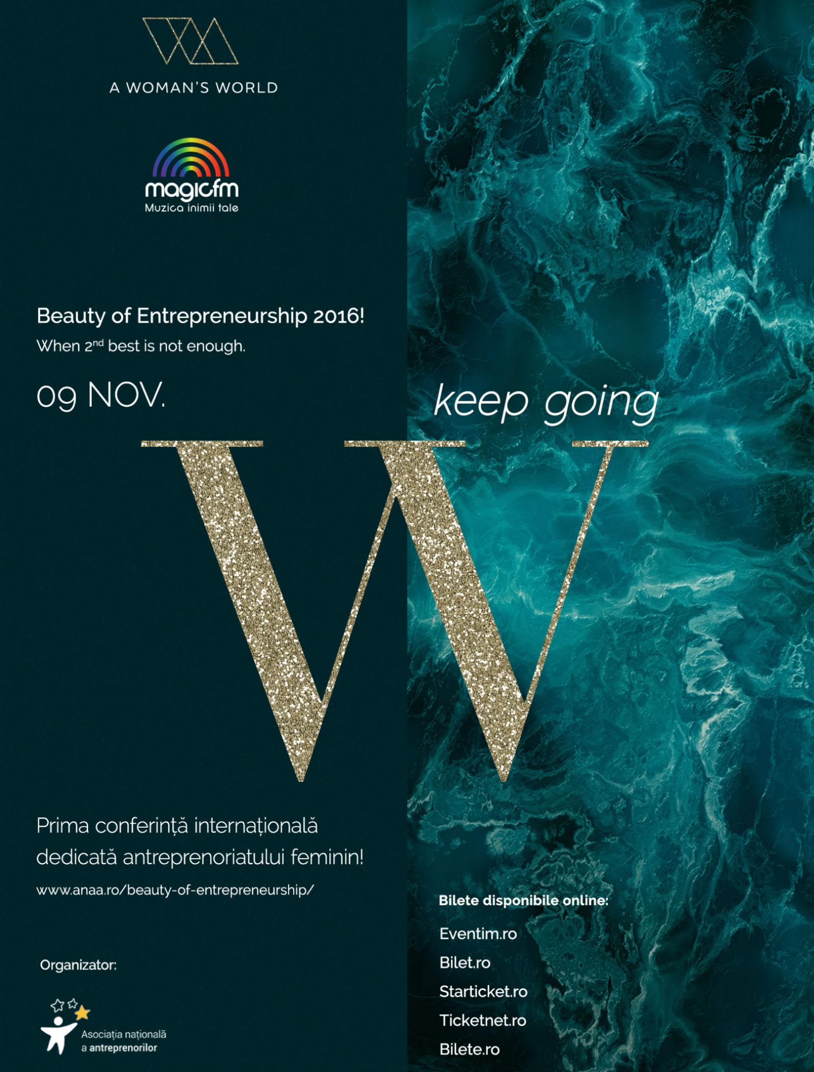 Prima conferință internațională cu accent pe femeile antreprenor