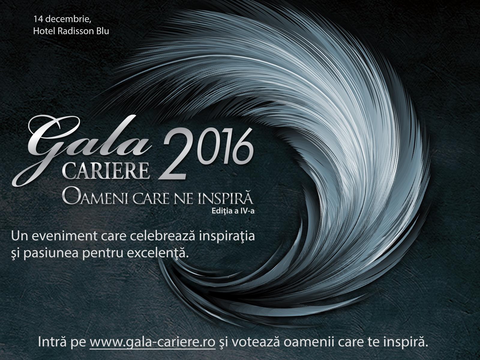 Oamenii care ne inspira, la Gala Premiilor CARIERE 2016