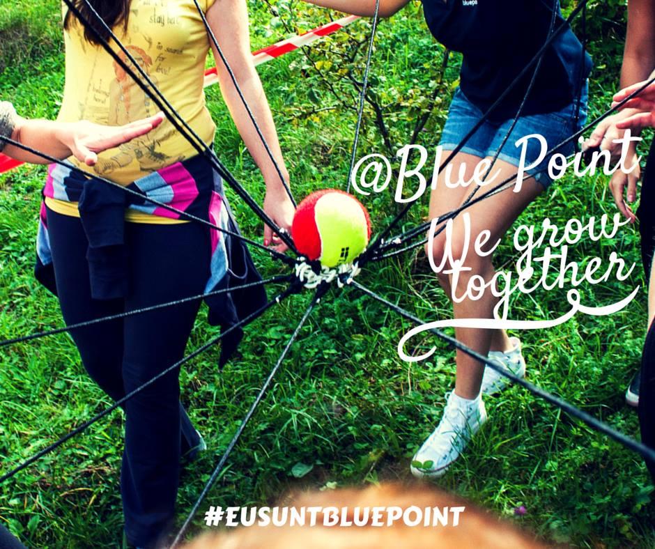 Activitățile recreative de la Blue Point au scopul de a consolida echipa