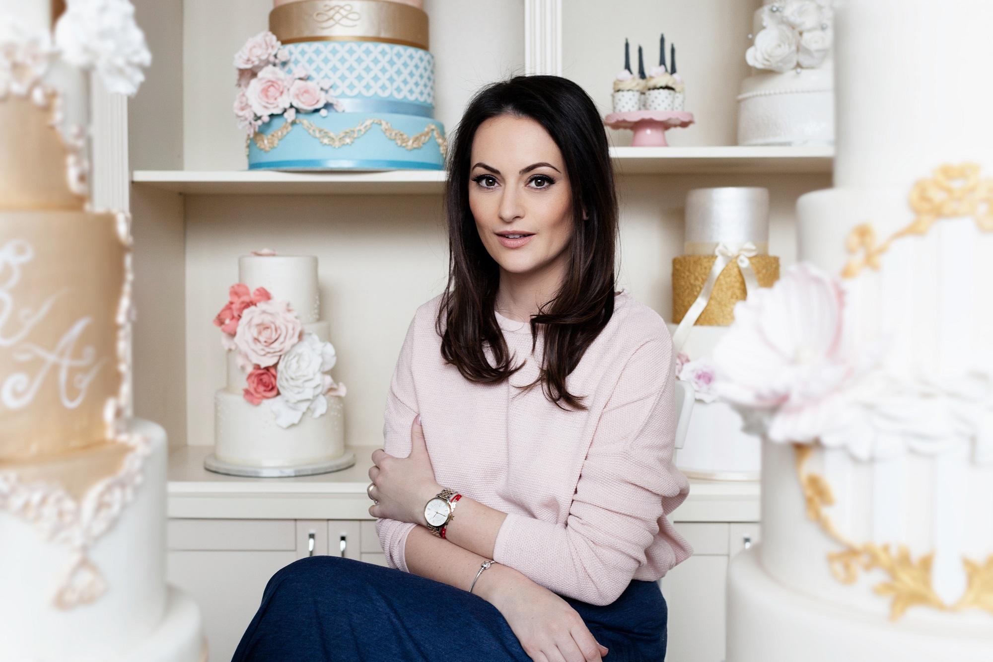 Alina Sudriu, fondatoarea Grace Couture Cakes