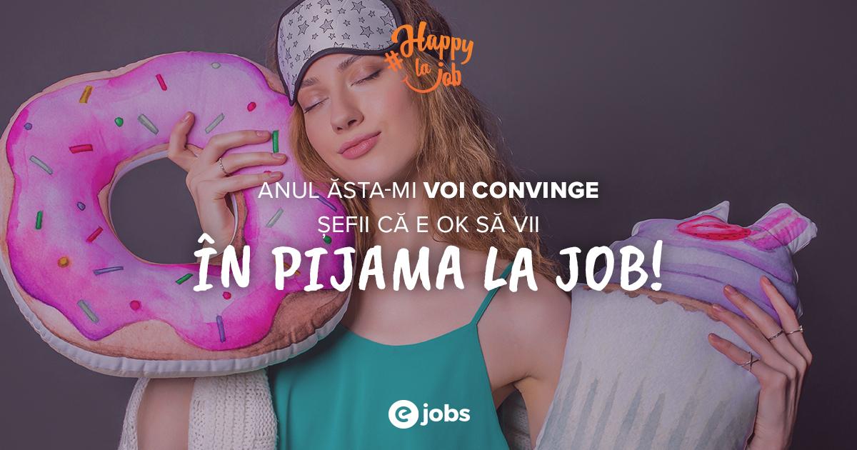 Doar una dintre zecile de Rezoluții Happy marca eJobs Romania