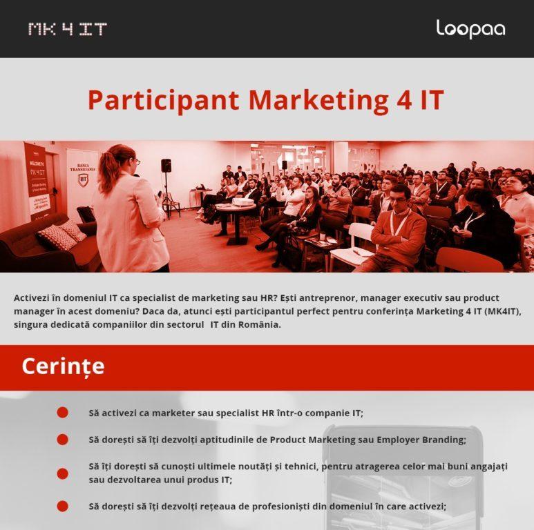 Marketing 4 IT eJobs Participare 1