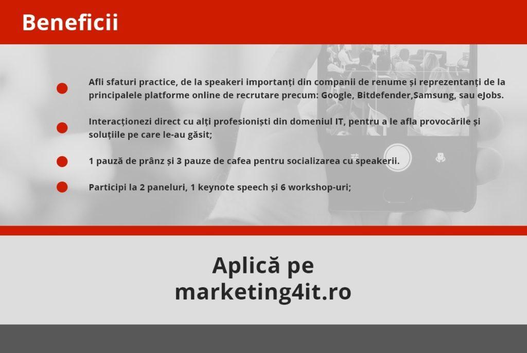Marketing 4 IT eJobs Participare 2