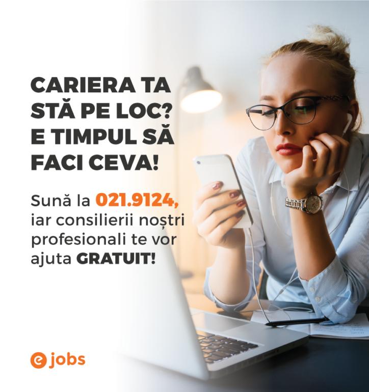 Plafonarea la job consiliere profesională