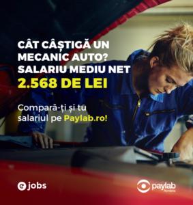mecanic auto salariu