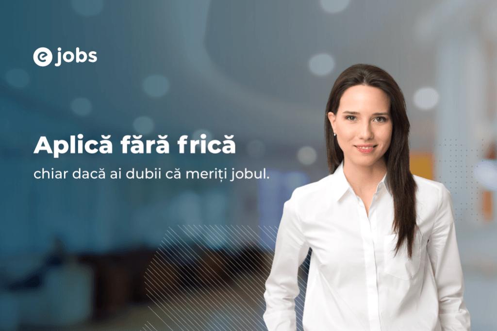 Aplică Fără Frică eJobs campanie brand
