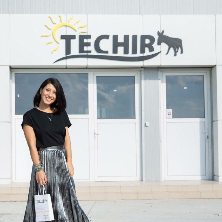Oana Stan, fondatoare Techir produse cosmetice