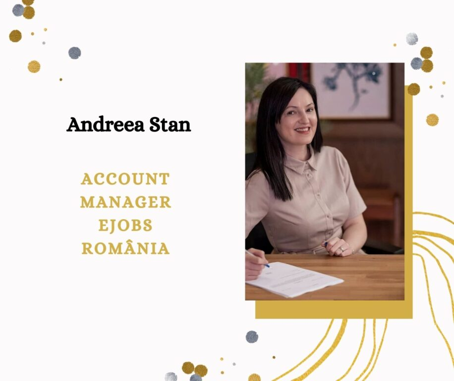 Andreea Stan - Account Manager eJobs