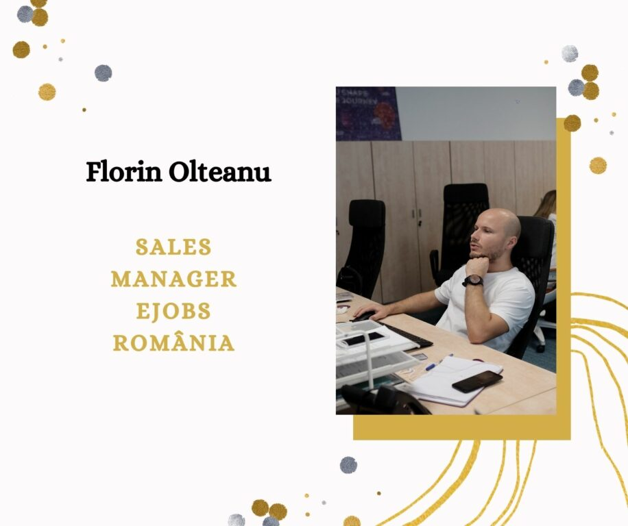 Florin Olteanu - Sales Manager eJobs Romania