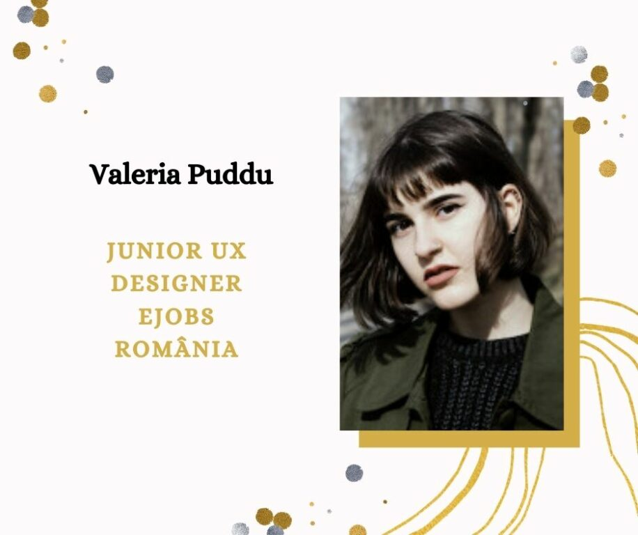 Valeria Puddu, Junior UX Designer