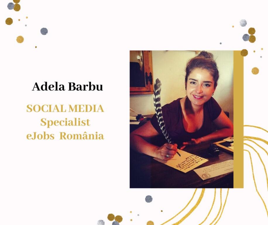 Adela Barbu - Social Specialist Manager eJobs România
