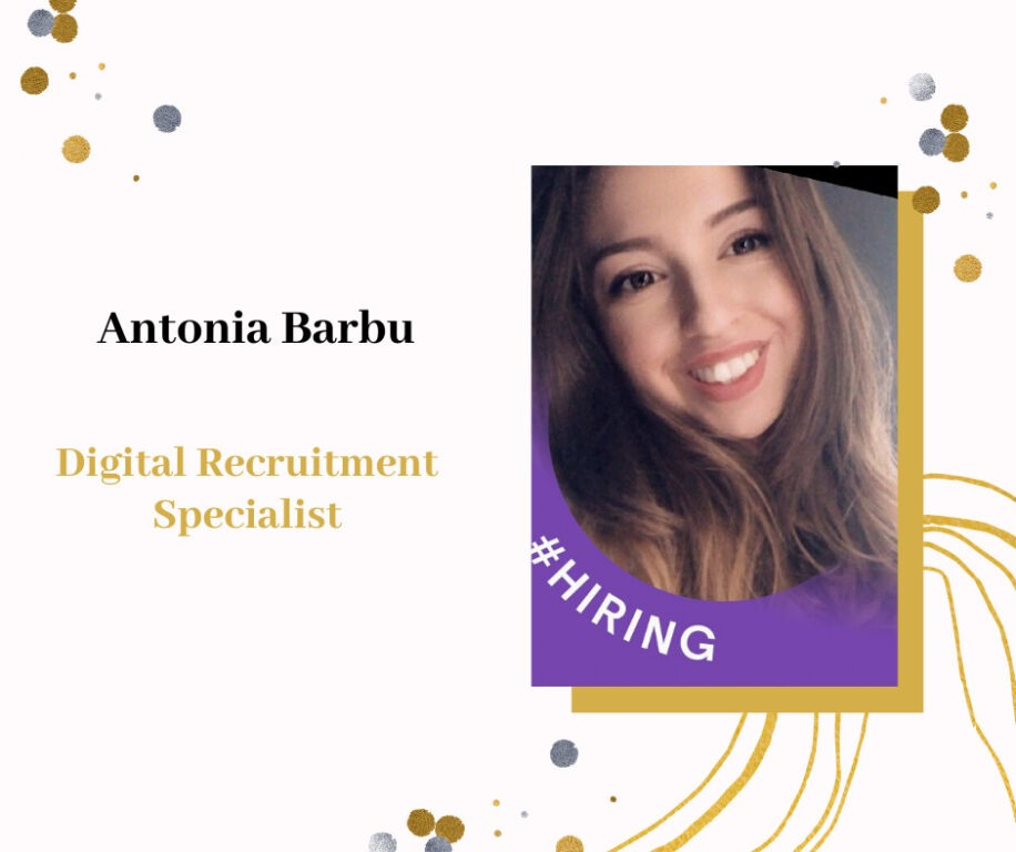Antonia Barbu - Digital Recruitment Specialist eJobs